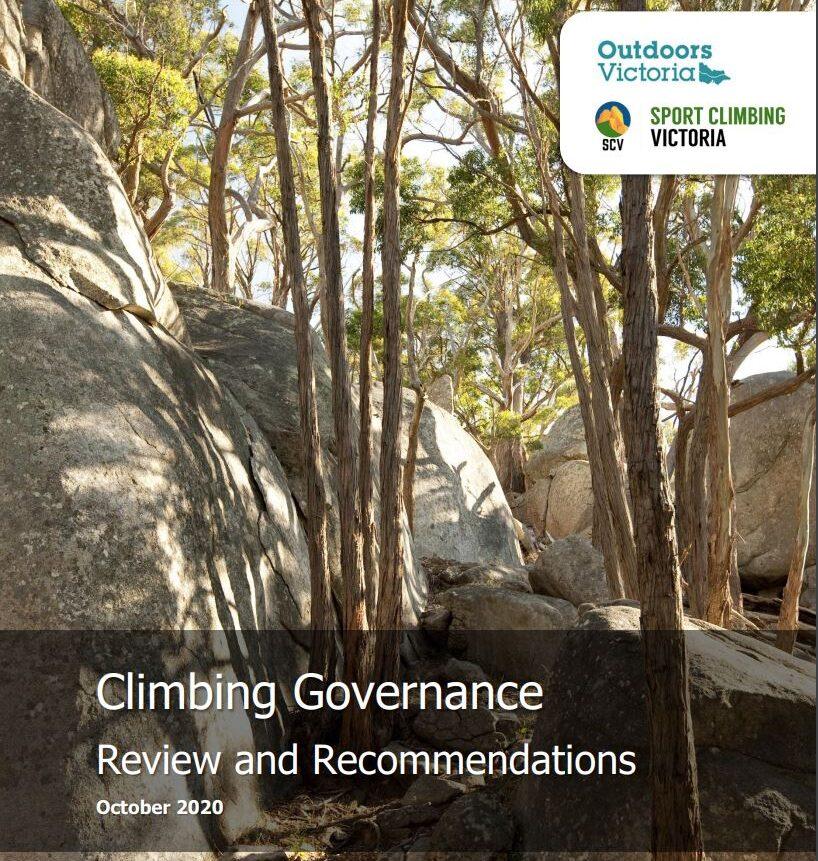 Climbing governance review